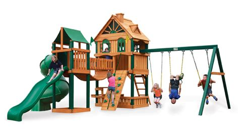woodbridge swing set gorilla woodbridge swing set playset emporium