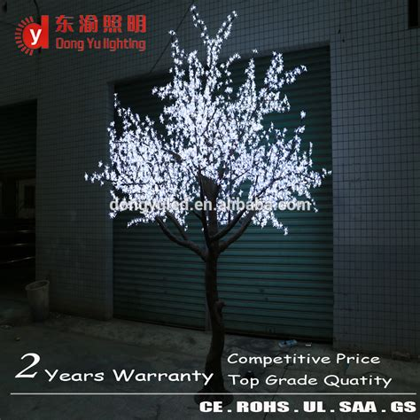 lighted trees for indoors indoor led artificial plant tree white cherry blossom