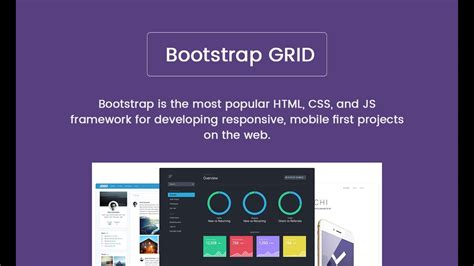 bootstrap tutorial getbootstrap bootstrap 3 grid system tutorial for beginners youtube