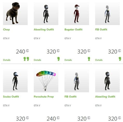 celebrity items in gta 5 grand theft auto 5 avatar items available on xbox live