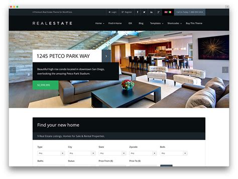 themes wordpress professional 40 best real estate wordpress themes for agencies