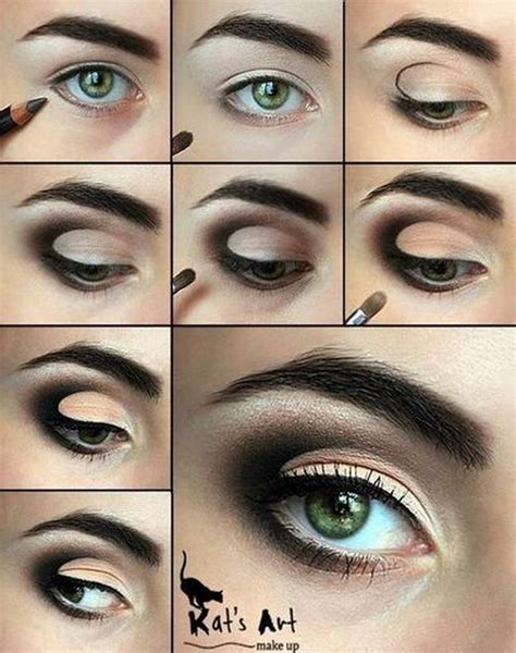 eyeliner tutorial for droopy eyes 20 amazing eye make up tutorials for a perfect look