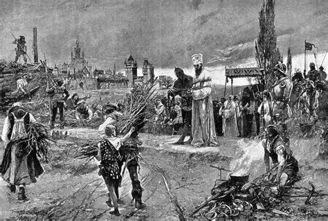 To A King By Labohemian file burning of jan hus at the stake at council of constance jpg