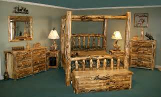 log bedroom furniture aspen collection tahoe furniture company