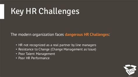 challenges faced by hr managers hr challenges and hr strategic answers
