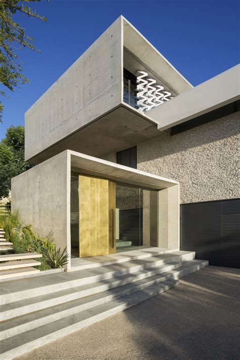 city villa concrete and glass house modern city villa by arrcc