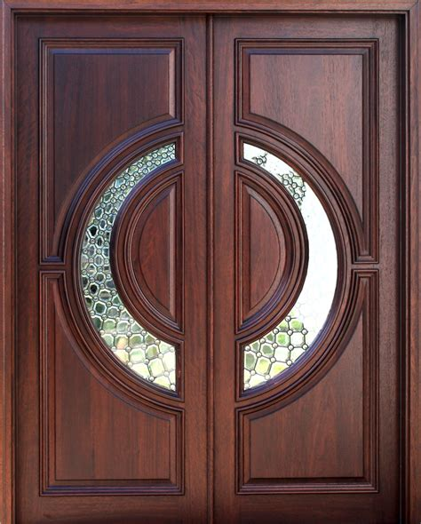 Mahogany Front Door With Glass by Mahogany And Glass Arch Front Door Home