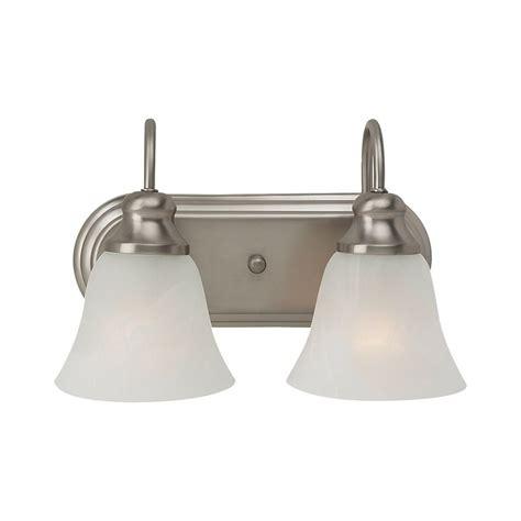 bathroom lighting brushed nickel finish bathroom light with alabaster glass in brushed nickel
