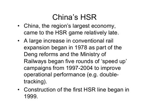 Chinas Finance And Trade Gordon Bennerr 1978 asian high speed rail hsr changing economic