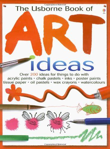 libro the usborne book of libro usborne book of art ideas di fiona watt