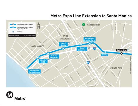 expo line map la metro home maps timetables