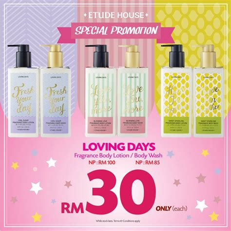 Etude House Loving Days Fragrance Mist my etude house loving day fragrance special promotion cosmetic cosmetic makeup
