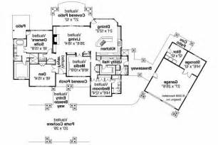House Plans With Detached Garage In Back craftsman house plans arborgate 30 654 associated designs