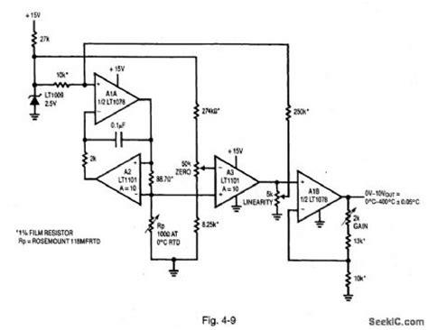 rtd bridge resistors index 1198 circuit diagram seekic