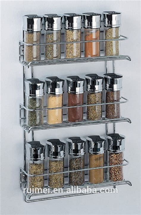 Metal Spice Rack Wall Mount Wall Mounted Metal Spice Rack Buy Wall Mounted Metal