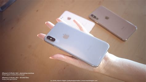 iphone xs plus renders with a setup paint tasty picture of what to expect from