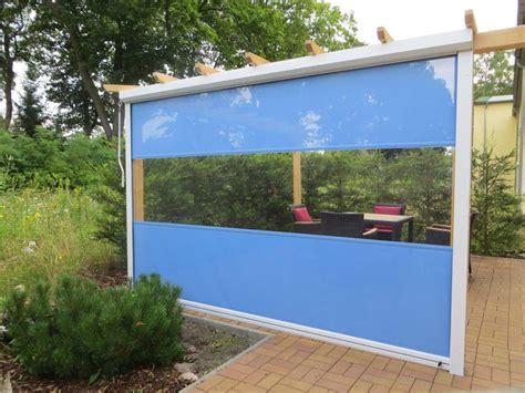 Bewegl Wetterschutz F 252 R Ihre Terrasse Direkt Vom Windschutz Terrasse Transparent 2