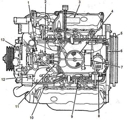 7 best images of 6.0 powerstroke turbo diagram 2002 ford