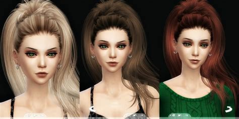 how to download hairstyles in sims 4 newsea s aphrodite hair 3t4 conversion at kalilies sims