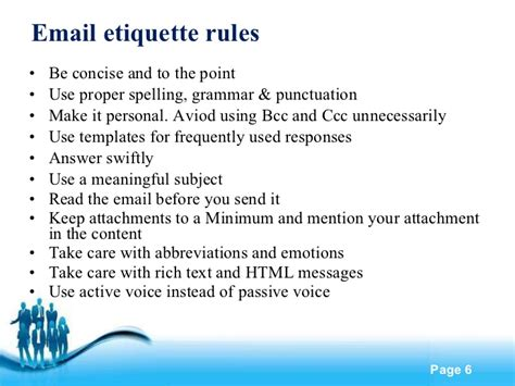email ethics telephone email etiquette images