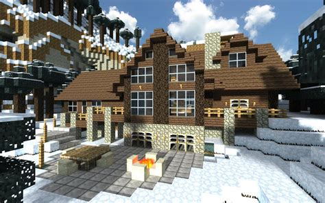 Minecraft Cabin House cozy minecraft log cabin minecraft project