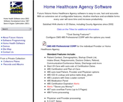 gofuturevisions cms 485 software home healthcare