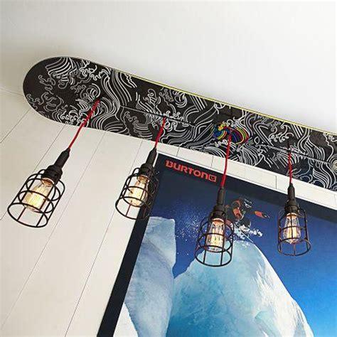 Snowboard Bedroom Decor by Burton Snowboard Pendant Pbteen