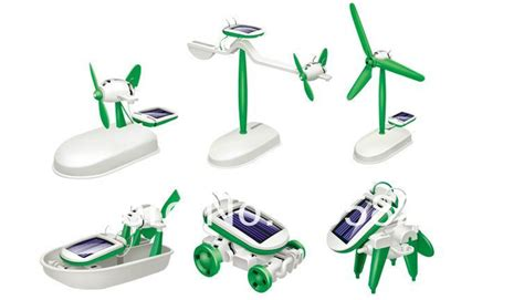 6 In 1 New Solar Educational Diy 2014 brand new 6 in 1 educational diy solar robot kit boat fan car factory learning