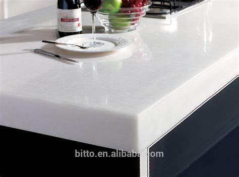 Acrylic Solid Surface Countertops Polyester Resin Acrylic Solid Surface Sheets For Kitchen