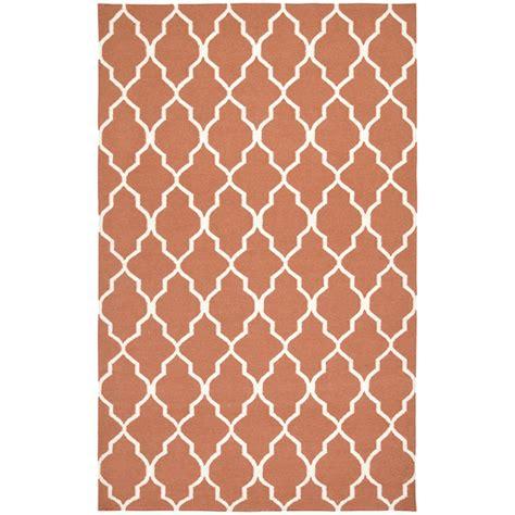 orange lattice rug rizzy home sg2102 swing orange lattice rug discount furniture at hickory park furniture galleries
