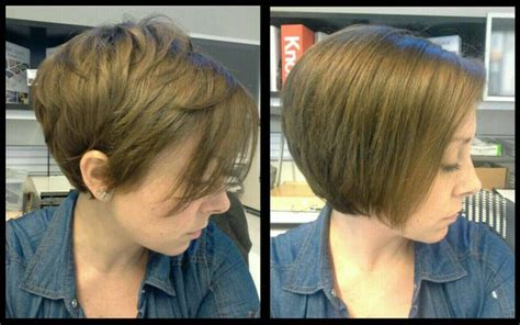 6 months after pixie cut from pixie to bob in 6 months my hair pinterest bobs