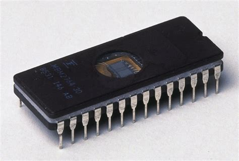 the integrated circuit was used in radiation services