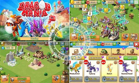 mod dragon mania versi 4 0 0 dragon mania v4 0 0 apk full mod unlimited money gems
