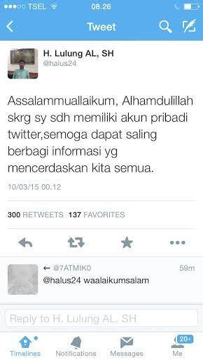 detiknews twitter setelah mendunia haji lulung akhirnya eksis di twitter