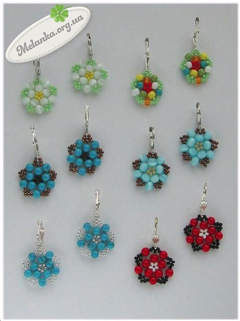 free patterns for beaded earrings 17 beste afbeeldingen beaded earring patterns