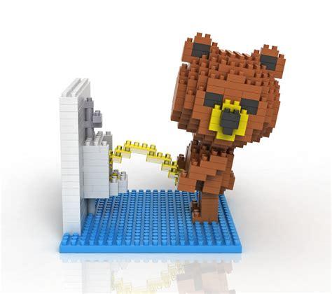 2015 minecraft brown in toilet blocks nano micro building block toys interesting
