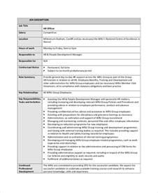 sample job description 19 documents in pdf word
