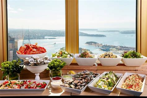sydney tower buffet menu s day dining ideas eat drink play