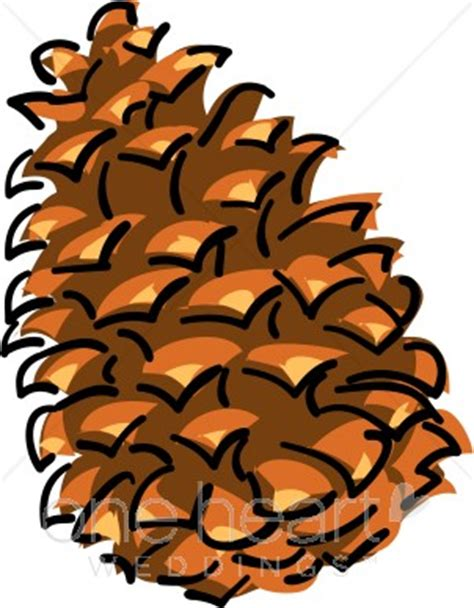 Accents Home Decor Pine Cone Clipart Winter Wedding Clipart