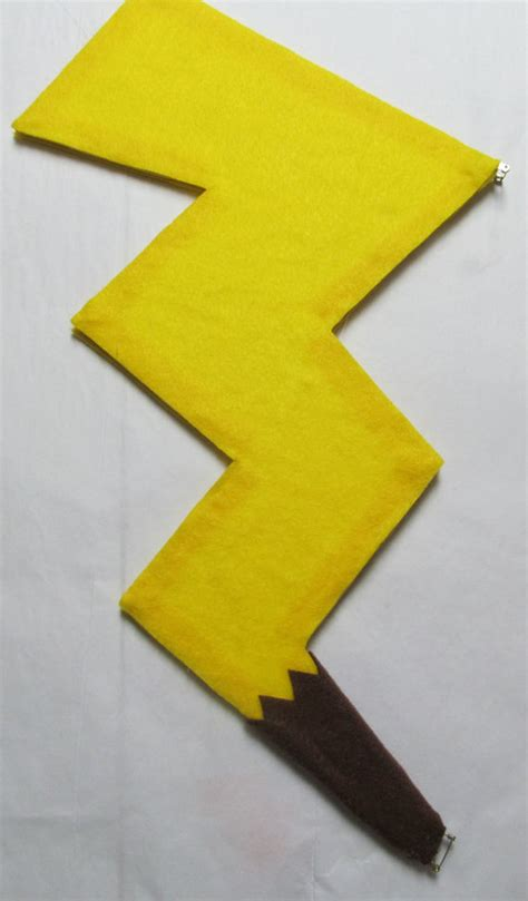pokemon pikachu tail cosplay costume yellow electric mouse