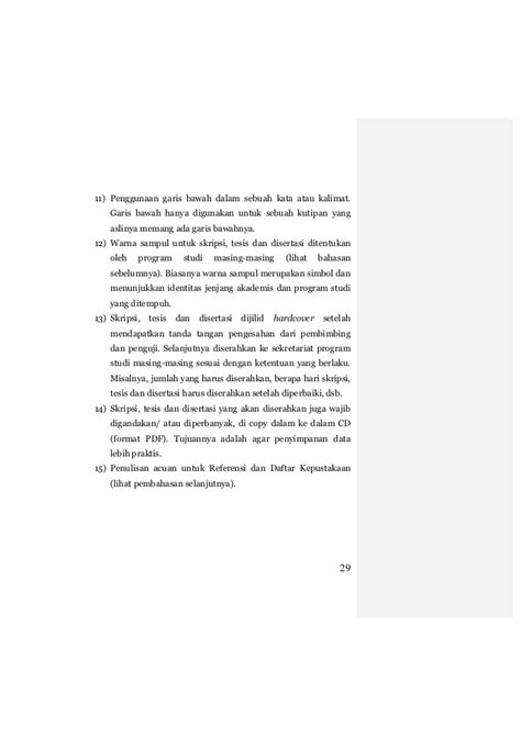 format hardcover skripsi panduan penulisan skripsi tesis