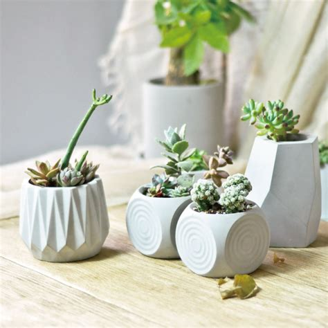 Cement Planter Molds For Sale by Aliexpress Buy Silicone Molds For Concrete Flower Pot Diy Cement Planters Concrete Plant
