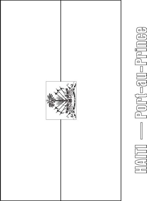 haiti flag coloring page download free haiti flag