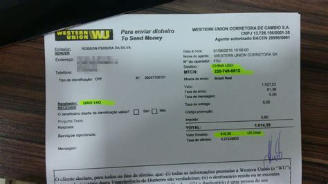 Western Union Receipt Template by Pin Western Union Money Transfer On