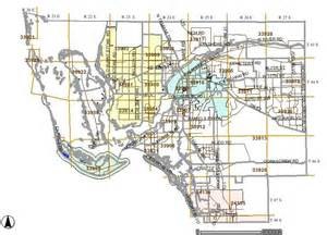 florida section township range map new page 1 www qprop net