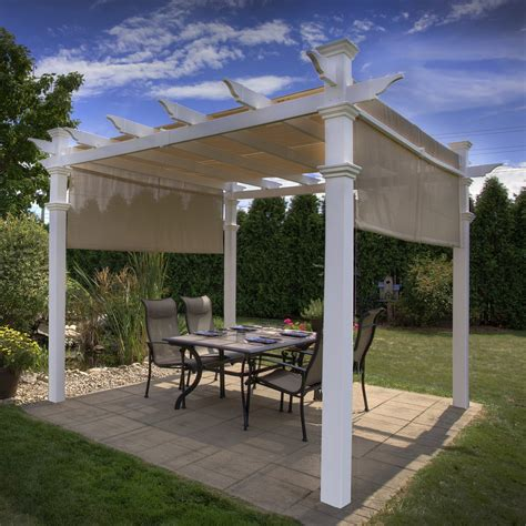 lowes gazebos and pergolas new arbors va42057 malibu pergola lowe s canada