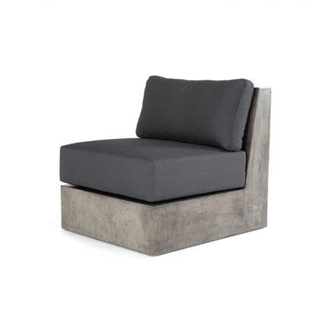 concrete sofa modrest indigo contemporary grey concrete sectional sofa