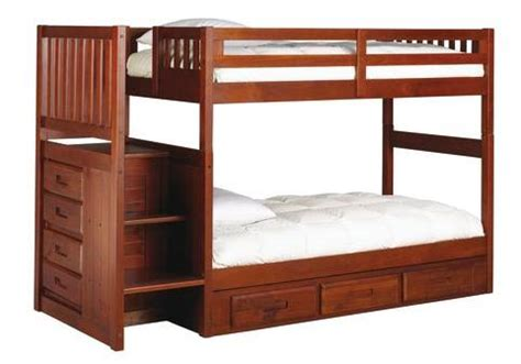 badcock furniture bunk beds gaining space growing up with the madison collection