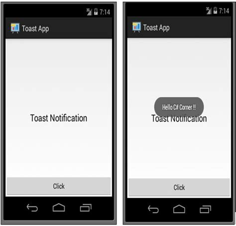 android studio toast tutorial day 4 toast notification in android