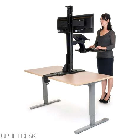 standing desk converter reviews shop uplift standing desk converters